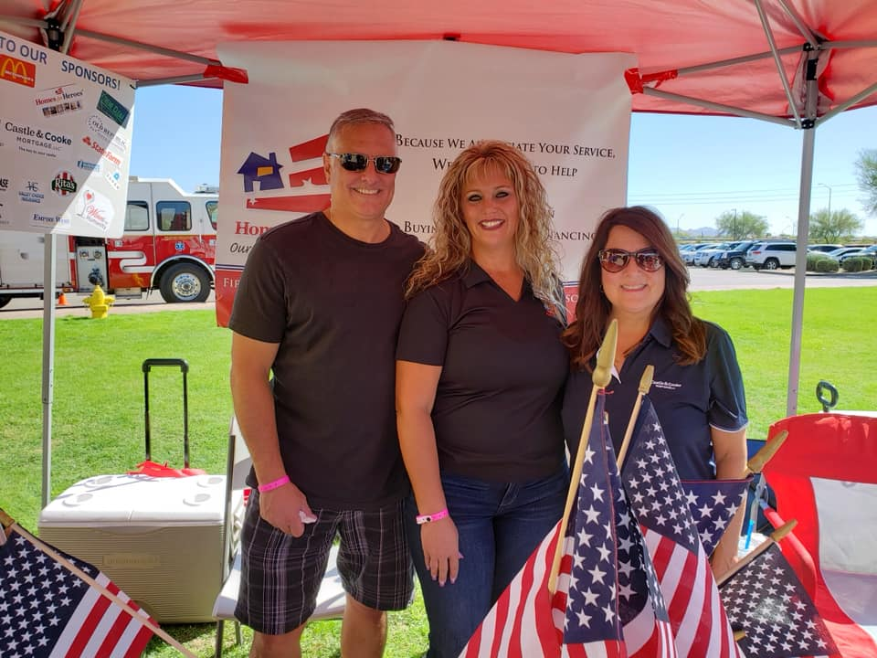 Arizona team works for Homes for Heroes